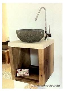 waschtisch gäste wc holz waschtisch design luxus flu 223 stein holz marmor waschbecken