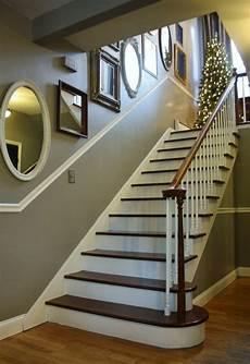 treppenhaus gestalten tipps einfache und stilvolle renovierung treppenhaus ideen
