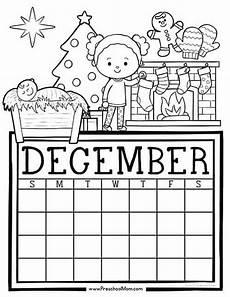 december worksheets free printable 15476 preschool monthly calendar printables preschool