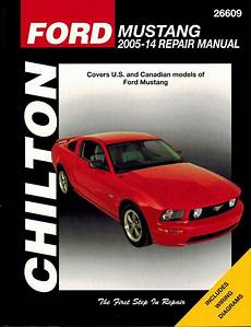 how to download repair manuals 1998 ford mustang interior lighting ford mustang repair service manual 2005 2014 chilton 26609