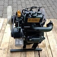 laufleistung 3 zylinder dieselmotor motor kubota z430 10 5ps 425ccm bhkw gebr
