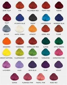 Hair Dye Style Names
