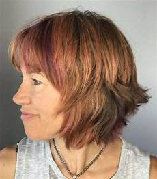 Bobfrisuren Für ältere Frauen - 20 flattering hairstyles with bangs for