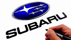 How To Draw The SUBARU Logo Famous Car Logos  YouTube