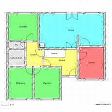 Plan Maison Rdc Simple Plan 9 Pi 232 Ces 119 M2 Dessin 233 Par