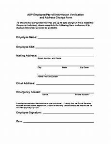 printable employee emergency contact information templates fillable sles in pdf word to