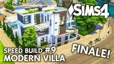 sims 4 häuser bauen gro 223 es die sims 4 familienhaus bauen modern villa 9