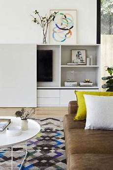 Fernseher Verschwinden Lassen - 20 attractive home decorating ideas to hide living room tv
