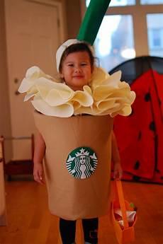 diy costume starbucks frappuccino carnival costumes - Lustige Kostüme Selber Machen