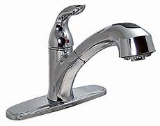 rv kitchen faucets faucets 8 quot single handle rv kitchen faucet w pull out sprayer chrome finish