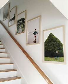 treppenhaus bilder aufhängen 1001 ideen f 252 r fotowand interessante wandgestaltung