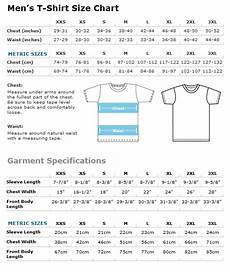 Mens Business Shirt Size Chart The Guru Of You T Shirts Size Chart Amp Garment Specifications