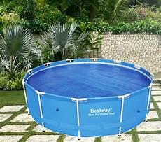 pool 5m durchmesser new bestway swimming pool cover 3 5m diameter fits 58293
