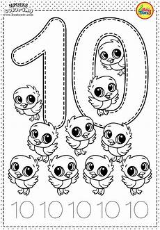 number 10 preschool printables free worksheets and coloring pages for kids learning numbers