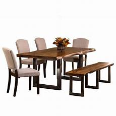 essgarnitur mit bank hillsdale emerson 6 rectangle dining set with dining