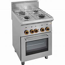 backofen herd gas herd 4 brenner mit umluft backofen gastro4you