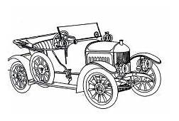 Oldsmobile 1956 Antique Car Coloring Pages  Best Place To