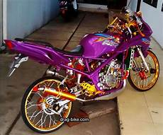 150 Rr Modif Simple by Modif Rr 150 Modifikasi Pelek Jari Jari Kawasaki