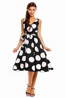 ladario vintage anni 50 donna retro vintage anni 50 swing grande a pois vestito