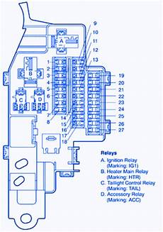 2000 Toyotum Celica Gt Radio Wiring Diagram by Toyota Mr2 2004 The Dash Fuse Box Block Circuit