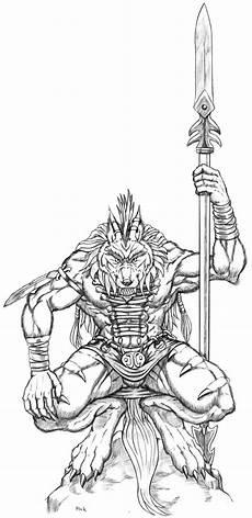 Malvorlagen Wolf Warrior Vcl Wolf Lsi