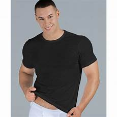 lyst calvin klein slim fit t shirt 3 pack in black
