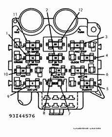 Solved I Need To See The Fuse Box Diagram For A 1991 Jeep