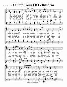 free choir sheet music o little town of bethlehem forest green michael kravchuk