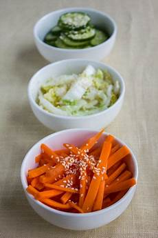 fast easy japanese pickled vegetables azzzian 和食