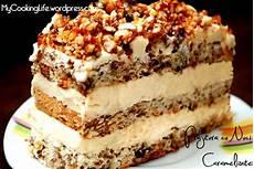 crema de patiserie jamila reteta desert prajitura cu nuci caramelizate