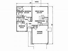 1100 square foot house plans ranch style house plan 2 beds 2 00 baths 1100 sq ft plan