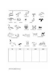 animal movement worksheets 13953 animal movement esl worksheet by vuuyenminh