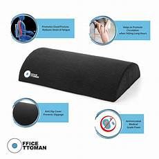 office ottoman foot rest non ergonomic foam cushion