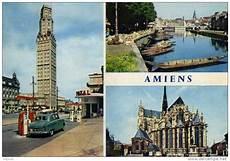 Carte Postale Moderne Somme Amiens Vues Station