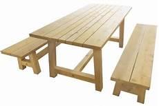 table et banc en bois pour exterieur banc pour table 224 diner ext 233 rieure en bois de c 232 dre blanc