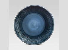 Kingsland Dinnerware Set 16 pc. Blue   Threshold : Target