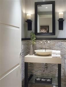 bad halb gefliest half bathroom designs brick tiles home interiors