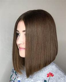 24 flattering middle part hairstyles in 2020