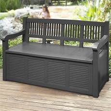 panchina da giardino legno panchina contenitore cassapanca effetto legno panca da