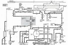 1983 1988 Ford Bronco Ii Start Ignition Wiring Diagram