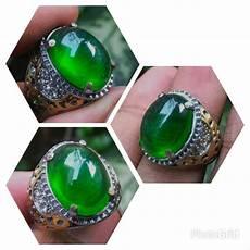 jual cincin batu akik zamrud kalimantan crystal di lapak yuqi galery dicky1991