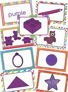 worksheets for toddlers 18182 8 card for color recognition crian 231 as