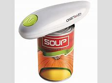 One Touch Can Opener   Open cans with effortless, one