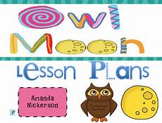 owl moon lesson plan reading pinterest owl moon kindergarten lesson plans and moon activities