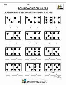 maths addition worksheet for kindergarten 9339 printable kindergarten math worksheets domino addition 3 preschool math worksheets