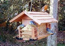 fabrication de mangeoire pour oiseaux du jardin petits
