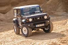 Mathews Nissan Suzuki by Muscly Tuned Suzuki Jimny Looks Ready To Take On Dakar