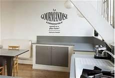 stickers ecriture pour cuisine autocollant mural pour cuisine une citation texte d