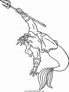 die kleine meerjungfrau68 gratis malvorlage in comic