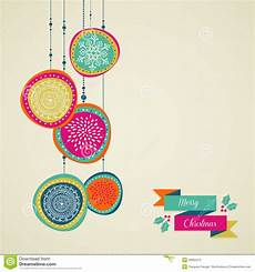 merry christmas drawn circle baubles vector file royalty free image 34655275